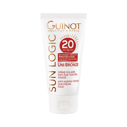 Guinot Uni Bronze Anti-Aging Tinted Sun Cream Face LSF 20