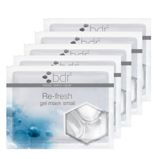 bdr Re-fresh Gelmaske Small 5 Stück